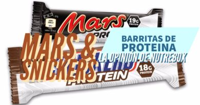 Mars & Snickers proteina