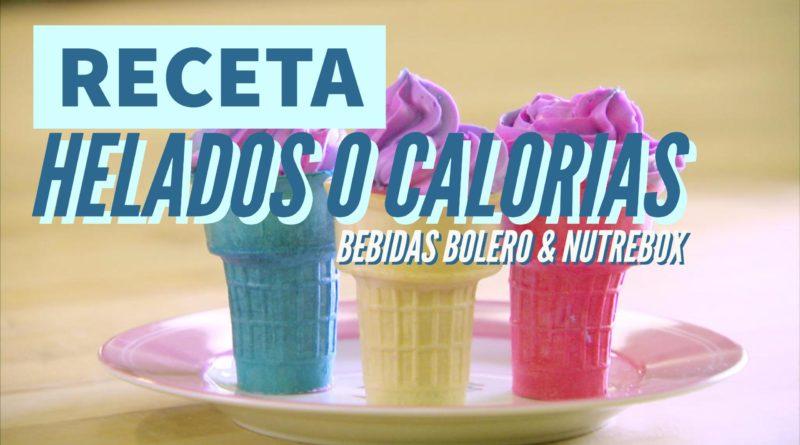 Receta helados 0 cero calorias & light
