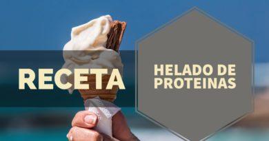 RECETA HELADO DE PROTEÍNA